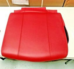 OEM Red Leather HT-125 Massage Chair Seat Pad Cushion by Hum