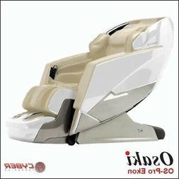 Osaki OS-Pro Ekon White L-track  Zero-G Heat Therapy Kneadin