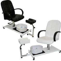 Pedicure Station & Hydraulic Chair Massage Foot Spa Beauty S