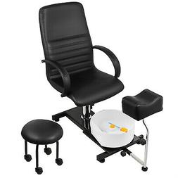 Pedicure Unit Station Hydraulic Chair & Massage Foot Spa Bea