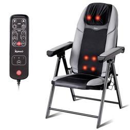 Portable Adjustable Electric Shiatsu Heated Massage Chair Se