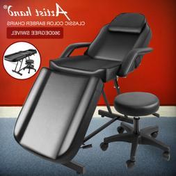 Portable Massage Facial Table Bed Tattoo Salon Chair Adjusta