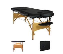 Portable Massage Table Best Facial Bed Salon Spa Tattoo Chai
