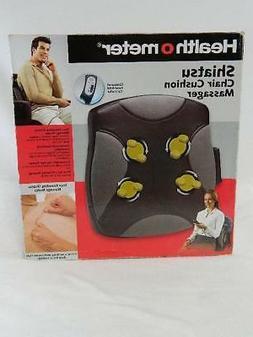 Health O Meter Portable Shiatsu Chair Cushion Massager Back