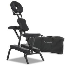 Portable Tattoo Spa Massage Chair Leather Pad Travel w/Free