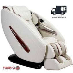 Titan Pro Commander L-Track 3D Zero-G Massage Chair Cream +