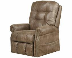 Catnapper Ramsey Power Lift Lay Flat Recliner with Heat & Ma