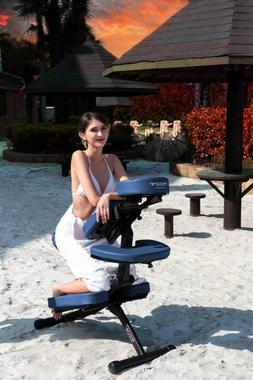 Master Massage Rio Portable Massage Chair Lightweight with c