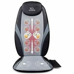 SNAILAX Shiatsu Back Massager With Heat - Gel Nodes, Deep Kn
