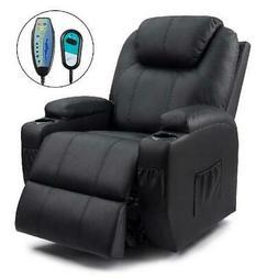 Sofa Recliner Chair Power Lift Massage Heating Living Room B