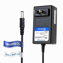 T POWER 6.6ft Long Cable Ac dc Adapter Compatible with 12VDC