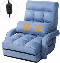 Updated Folding Massage Lazy Sofa Floor Chair Sofa Lounger B
