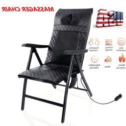 US Electric Folding Massage Chair Deep Kneading Roller Shiat