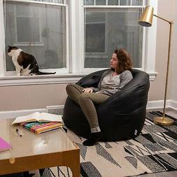 Big Joe Vibe Chair USB Powered Large Leather Fabric Massage