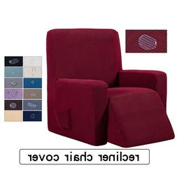 Waterproof Elastic Recliner Chair Cover High Stretch Massage