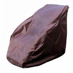 Waterproof Full Body Shiatsu Massage Chair Cover, Zero Gravi