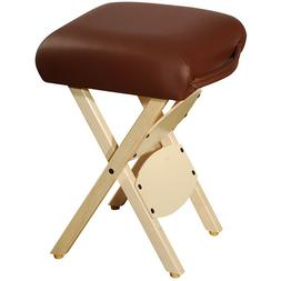 Master Massage Wooden Handy Folding portable stool chair cho