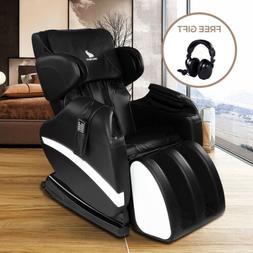 Electric Shiatsu Full Body Massage Chair Recliner Zero Gravi